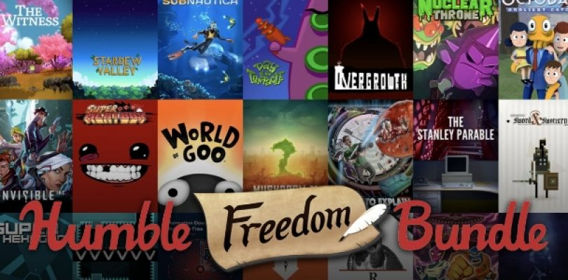 The Humble Freedom Bundle is absolutely insane