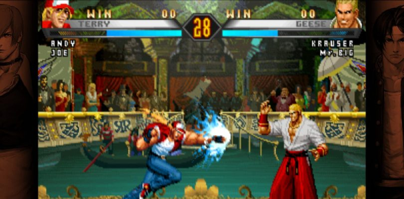 Some classic Neo Geo titles are heading to the Switch