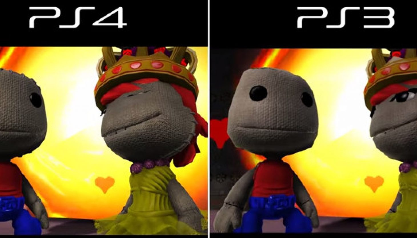 Sa Gamer South African Gaming Community Ps4 Little Big Planet 3 A Video Comparison Between On Ps3 And