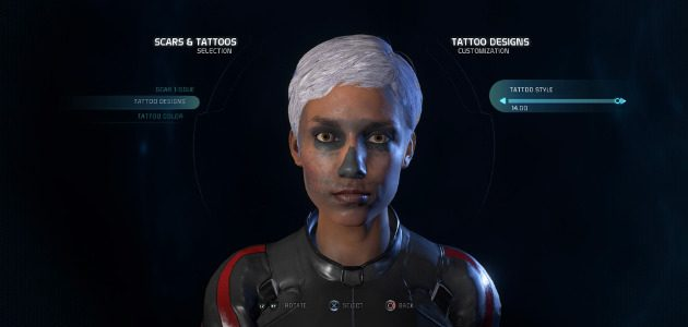 Want to create a decent-looking Ryder in Mass Effect
