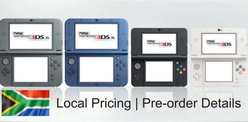 Local pricing and pre-orders open for New 3DS