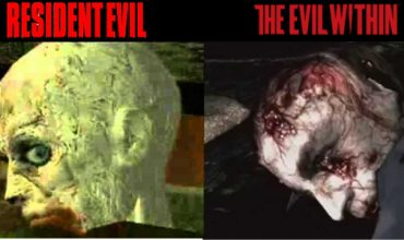 Sneaky Mikami includes an obvious Resi reference in Evil Within