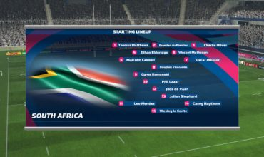 First images of Rugby World Cup 2015 game
