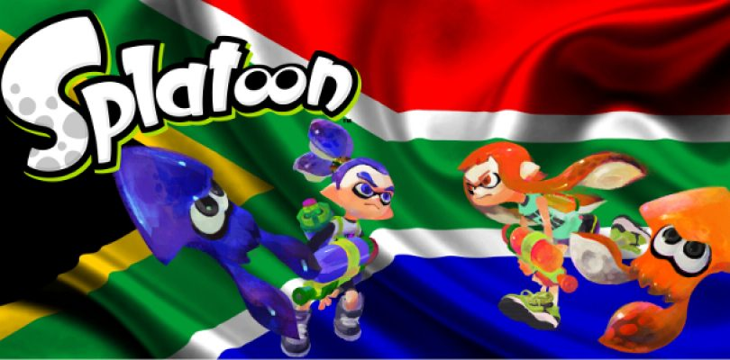 South Africa Prepare for the Splatoon War!
