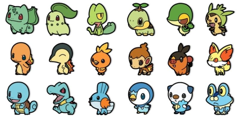 What Was Your First Pokemon?