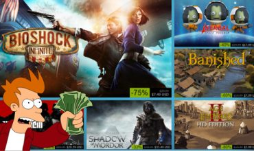 Your Steam Sale today – converted to Rands