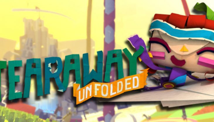 This Tearaway Unfolded gameplay video looks incredible