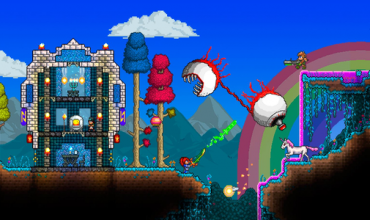 Terraria is headed to the Wii U and 3DS. Can you dig it?