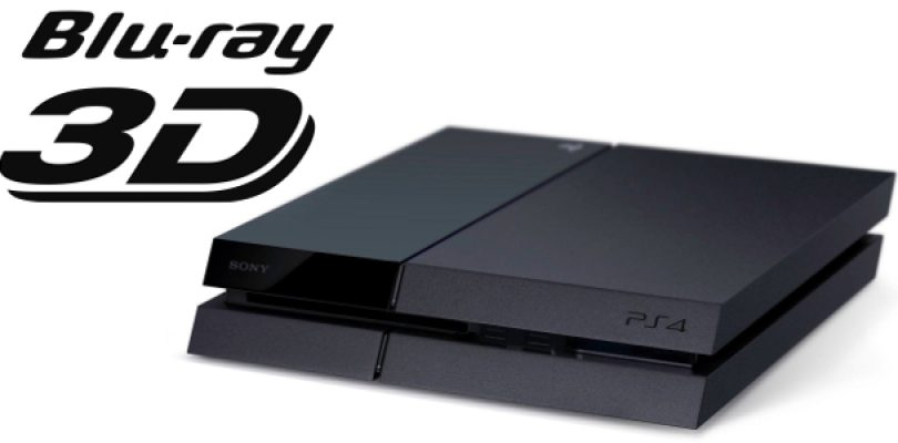 3D Blu-Ray support coming to the PS4 next week