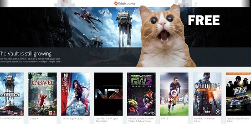 Origin Access now running a seven day free trial