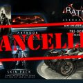 Batman Arkham Knight Batmobile Edition Officially Cancelled