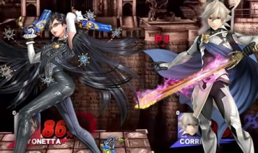 Super Smash Bros. Bayonetta vs. Corrin Gameplay