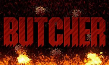 Butcher is a new DOOM-inspired 2D shooter