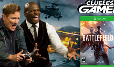 Video: Conan and Terry Crews play Battlefield 1