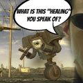 Guy finishes Fallout 3 New Vegas without healing once – the chosen one returns