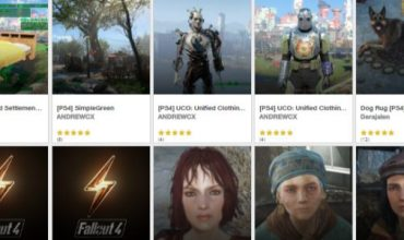 Mods for Fallout 4 on PS4 should be out soon!
