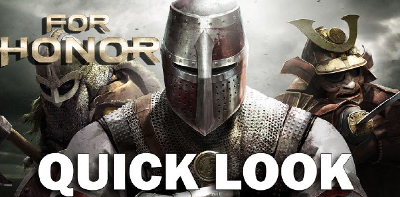 Video: For Honor beta quick look