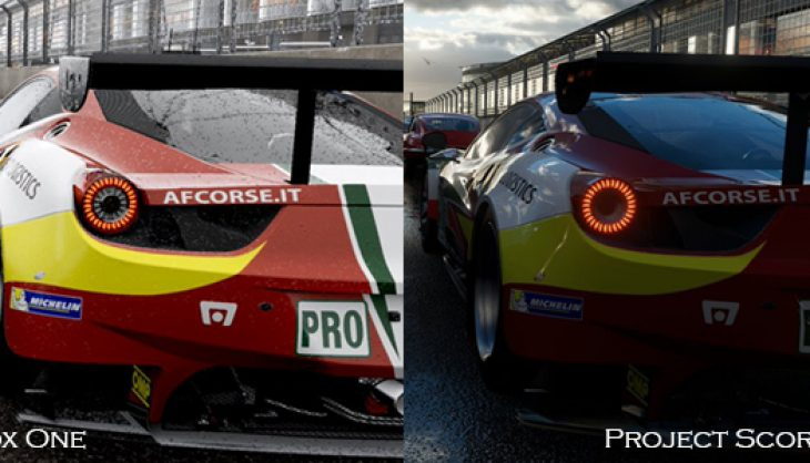 The Bleeding Edge: We look at a comparison of Forza 6 on Project Scorpio