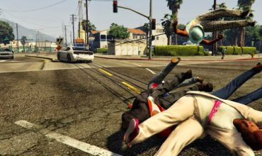 GTA V Gets The Just Cause 2 Grappling Hook Via Mod
