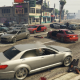 Insane car pile-up in GTA V that goes on for 5 minutes
