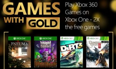 Check Out November's Games With Gold