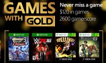 Your Games with Gold for August include WWE 2K16 and Beyond Good & Evil HD