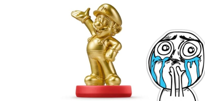 Golden Mario amiibo sold out in 15 minutes