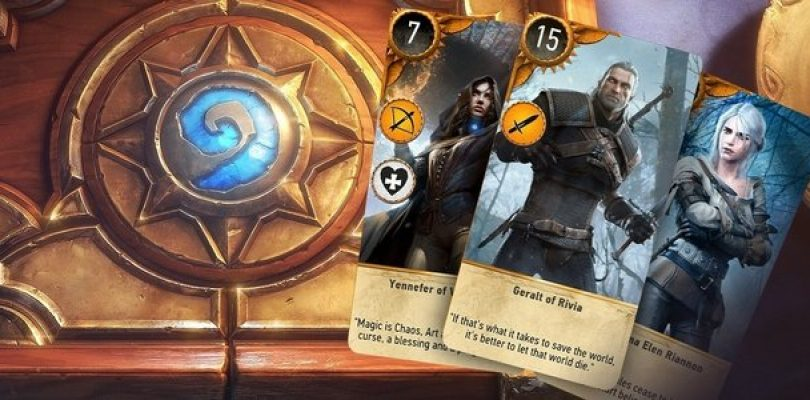 No, your Gwent deck won't transfer to New Game +