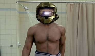 Master Chief wont take his helmet off in Halo 5