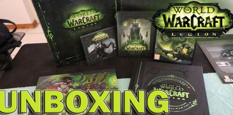Video: Unboxing World of Warcraft: Legion Collector's Edition