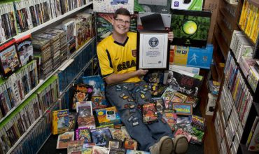 The biggest games collection in the world sold for about R8 250 000