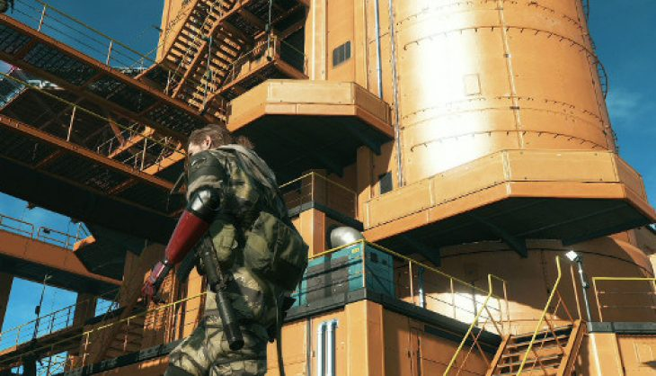 Video: The first official MGS V: Phantom Pain multiplayer footage