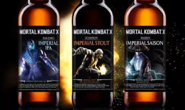 Mortal Kombat X getting its own beer range