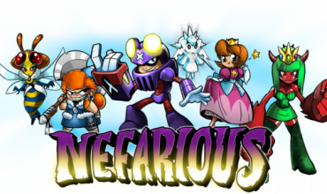 Play the bad guy in Nefarious
