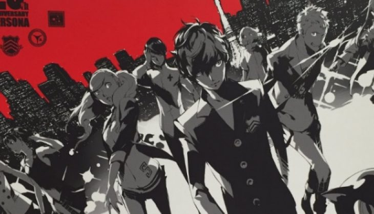 Persona 5 is top of the charts in UK