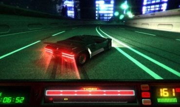This sci-fi racer is a blast from the arcade past
