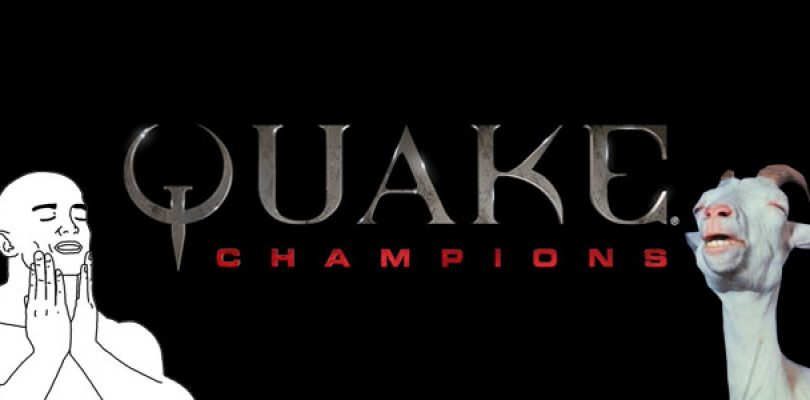New Quake Champions footage features Burial Chamber Arena