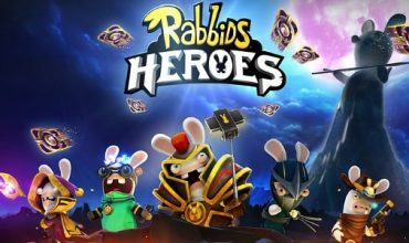 Raving Rabbids try their hand at a new trading card game