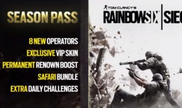 Tom Clancy's Rainbow Six Siege – Season Pass Trailer