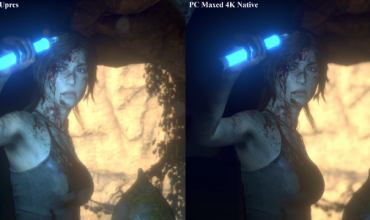 How does Rise of the Tomb Raider PS4 Pro vs. maxed PC visuals compare? Take a look