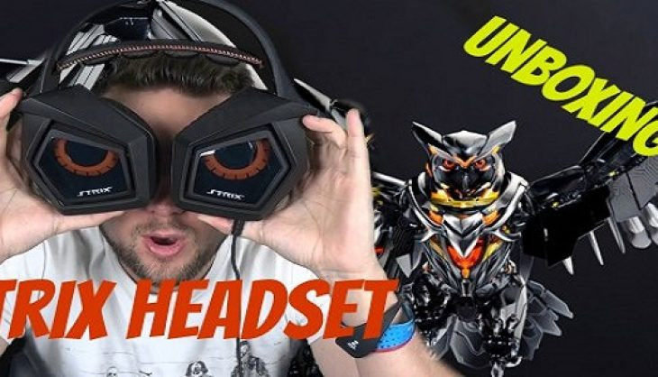 Asus STRIX Pro Gaming Headset Unboxing