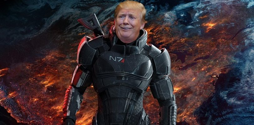 Donald Trump uses Mass Effect 2 trailer to promote his campaign