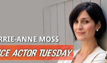 Voice Actor Tuesday: Carrie-Anne Moss