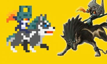 Wolf Link course hits Super Mario Maker