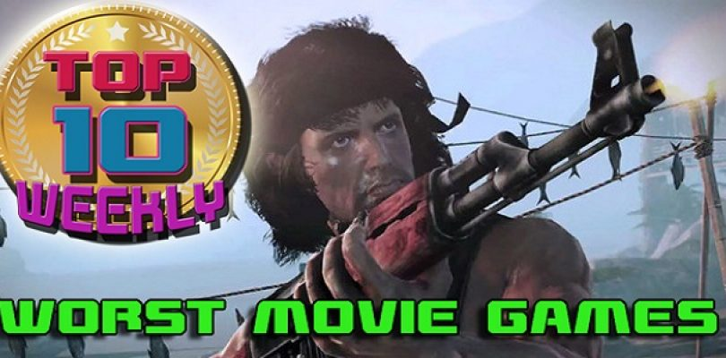 Video: Top Ten – Worst Movie Games