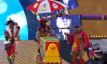 Hey! The New Day got some Final Fantasy in my WrestleMania