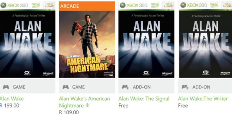 Not buying Quantum Break, but own Alan Wake? The DLC is now free on Xbox marketplace