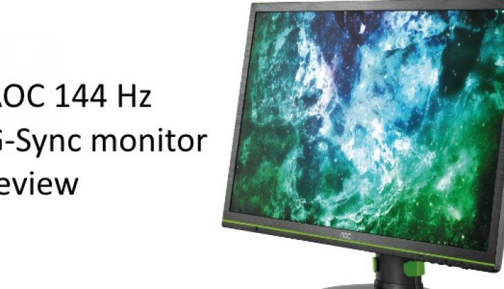 AOC G2460PG 144Hz G-Sync monitor review
