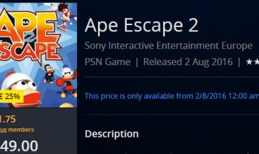 PS2 classic Ape Escape 2 is available on your PS4 right now