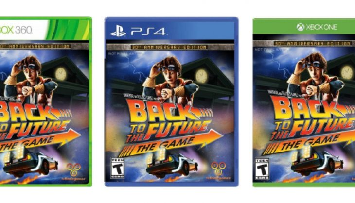 Telltale's 'Back to the Future' heading to PS4 and Xbox One